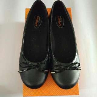 Payless Black Flats