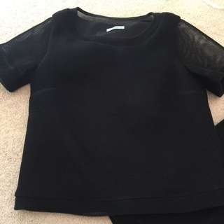 Kookai Black Top