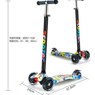 Kids New Design Scooter With LED wheel