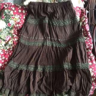 Summer Bohemian Long Skirt