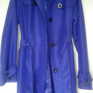 Violet Max Trench Coat Size 6