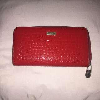 MICHAELA Long Wallet (Red)