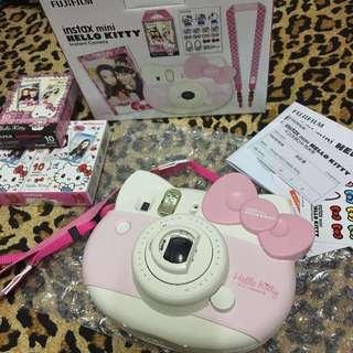 日本 富士 instax mini Hello Kitty 40週年限定 拍立得相機