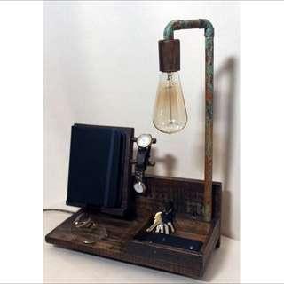 Night Stand Lamp And Organizer