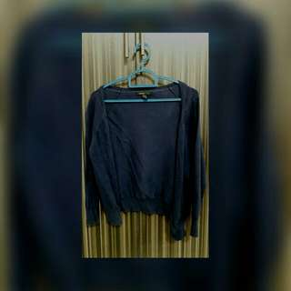 Authentic MNG Navy Blue Cardigan For Sale/Swap