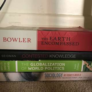 sociology, International Politics And Philosophy Text Books