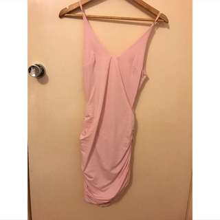 Pink Kookai Bodycon Dress