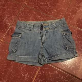 Denim Short (code: 2buttons)