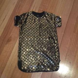 Sequin Shirt/dress