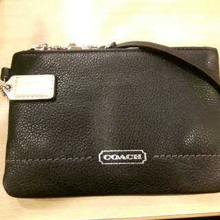 Original Coach Wrislet Black