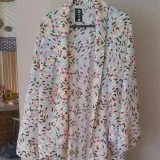New Multicolour Kimono Size XS