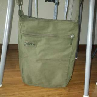 Adidas Army Green Bag