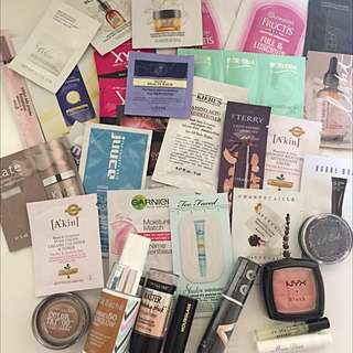 Various Samples & Full Size. Nars, Jo Malone, Dior, Too Faced