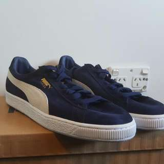 BRAND NEW Puma Suede Navy Blue