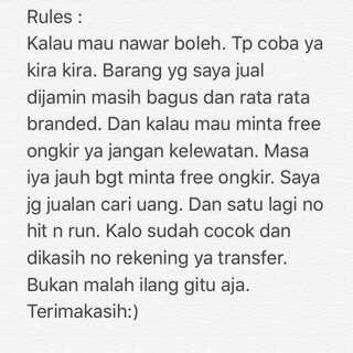 Tolong Dibaca