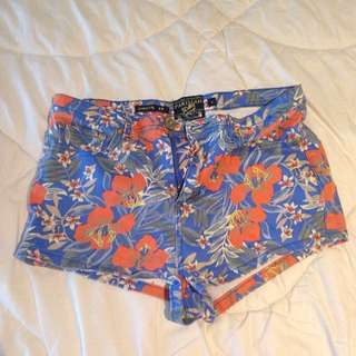 size 9 stretchy short shorts
