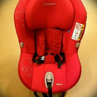 Maxi-Cosi MiloFix Car Seat (With High Safety Isofix System) 85%New