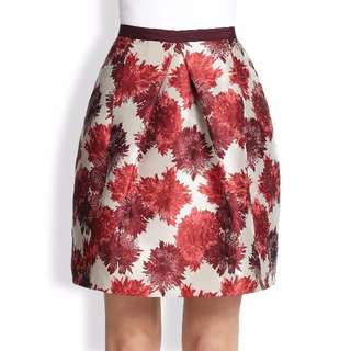 Weekend Max Mara Orchis-Print A-Line Skirt - Size 4 - 68% Off!!