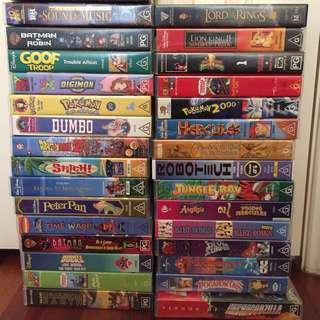 Cassette Tape Movies Vintage Nostalgic