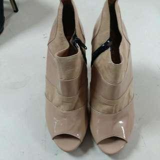 時尚裸靴涼鞋 尺寸:24.5
