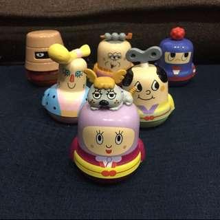 限時特價250元到4/1 日本 善之助玩具 發條公仔 盒玩 6款250元不分售