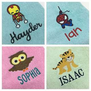 Personalised Kids Towel