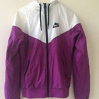 Nike Purple Windcheater AU S