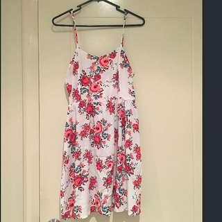 ❤️H&M Beautiful Floral Mini Dress