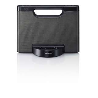 Sony RDP-M5iP personal handheld docking dock music centre for iPhones and iPods - Battery or Mains with Aux input