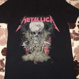 Topshop Metalica T-shirt