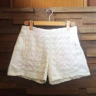 😍 Zara Inspired Lace Panel Shorts S