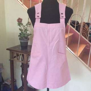 Pastel Pink Jumper Dress