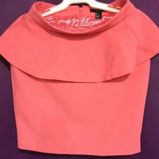 Forever21 Peplum Skirt