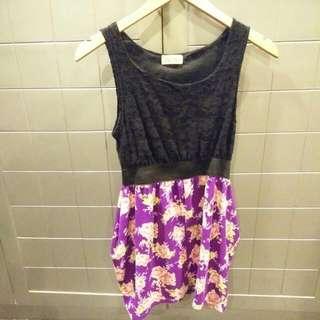 PREPPY Short Floral Dress