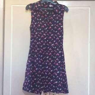 H&M Flamingo Dress