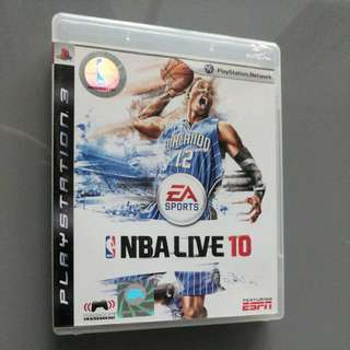 [Reduced To Clear] NBA LIVE 10 for PS3