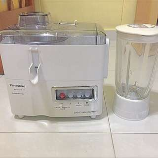 Panasonic 2 In 1 Juice Blender