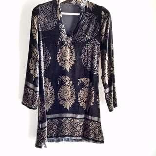 90's Style Boho Dress