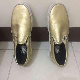 Vans Gold Slip On