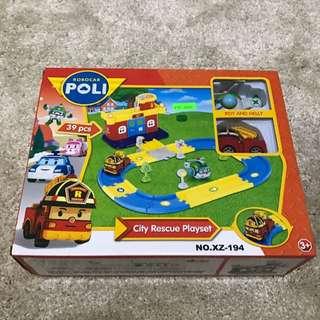 Robocar Poli City Rescue Playset