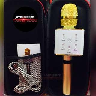 Q7 Bluetooth Karaoke Microphone