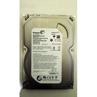 "Harddisk HDD Internal PC 3.5"" Seagate 500GB SATA"