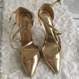 Syrup Gold Shoes
