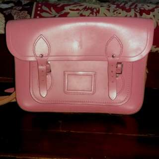 Cambridge Satchel Pink 13""