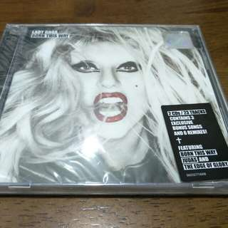 Lady Gaga Born This Way Deluxe 2 CD New Sealed