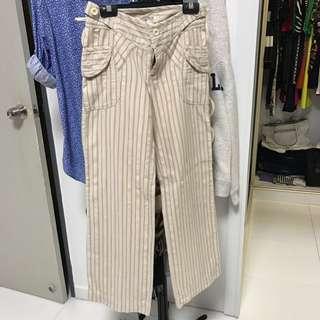 MNG Linen Pants For Cheap Sale