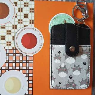 📮 3) Name Card Holder (Totoro)