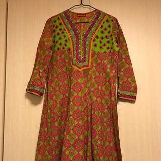 印度連身裙