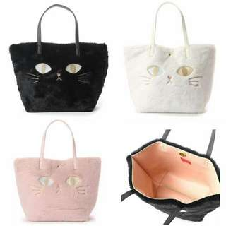 Kitty Fur Handbag