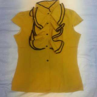 Mustard Office Shirt